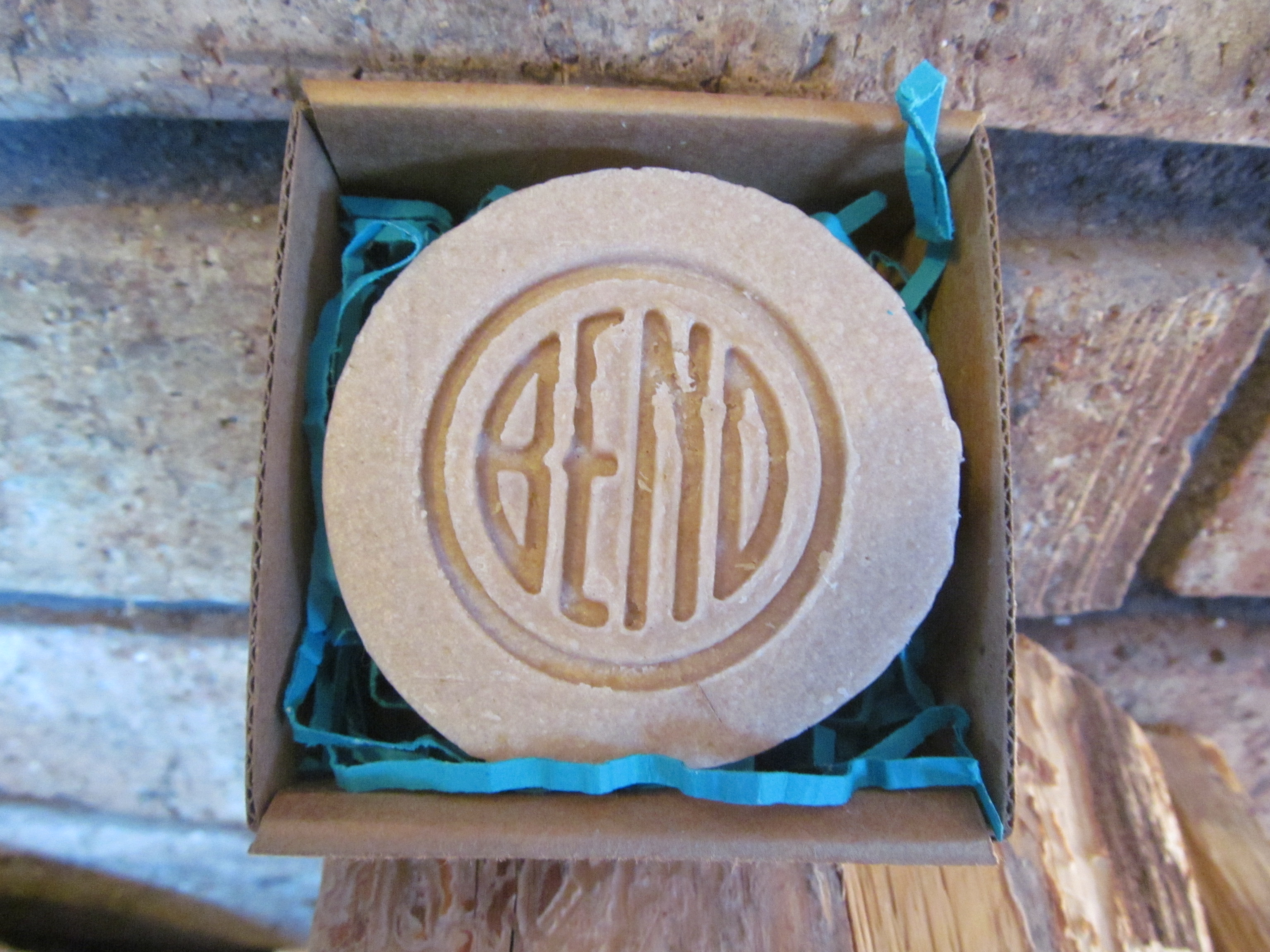 "Introducing our ""BEND"" Soap!"